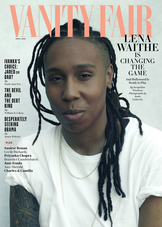 "Credit: Lena Waithe on the April cover of ""Vanity Fair."" Photo:  @vanityfair /Instagram"