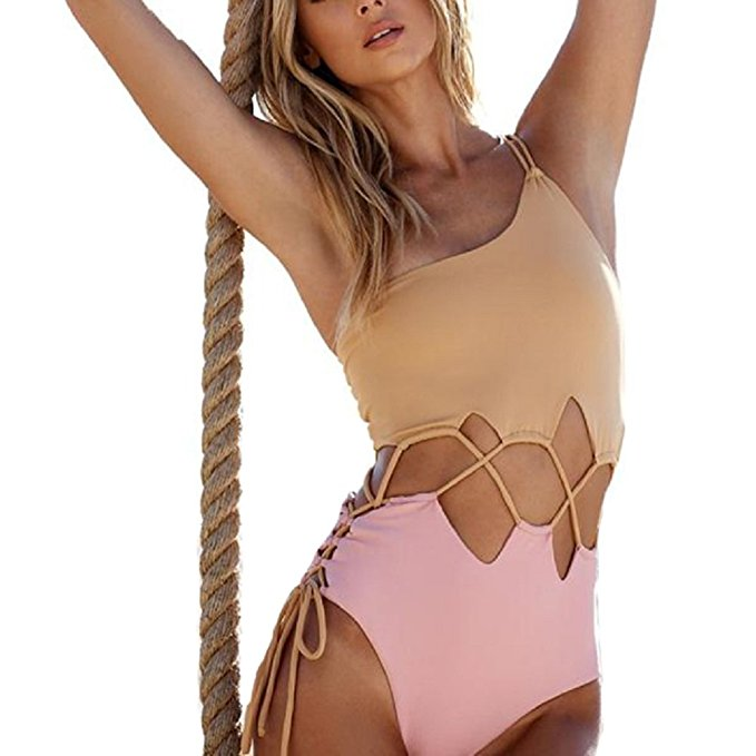 One Shoulder Monokini Bikini