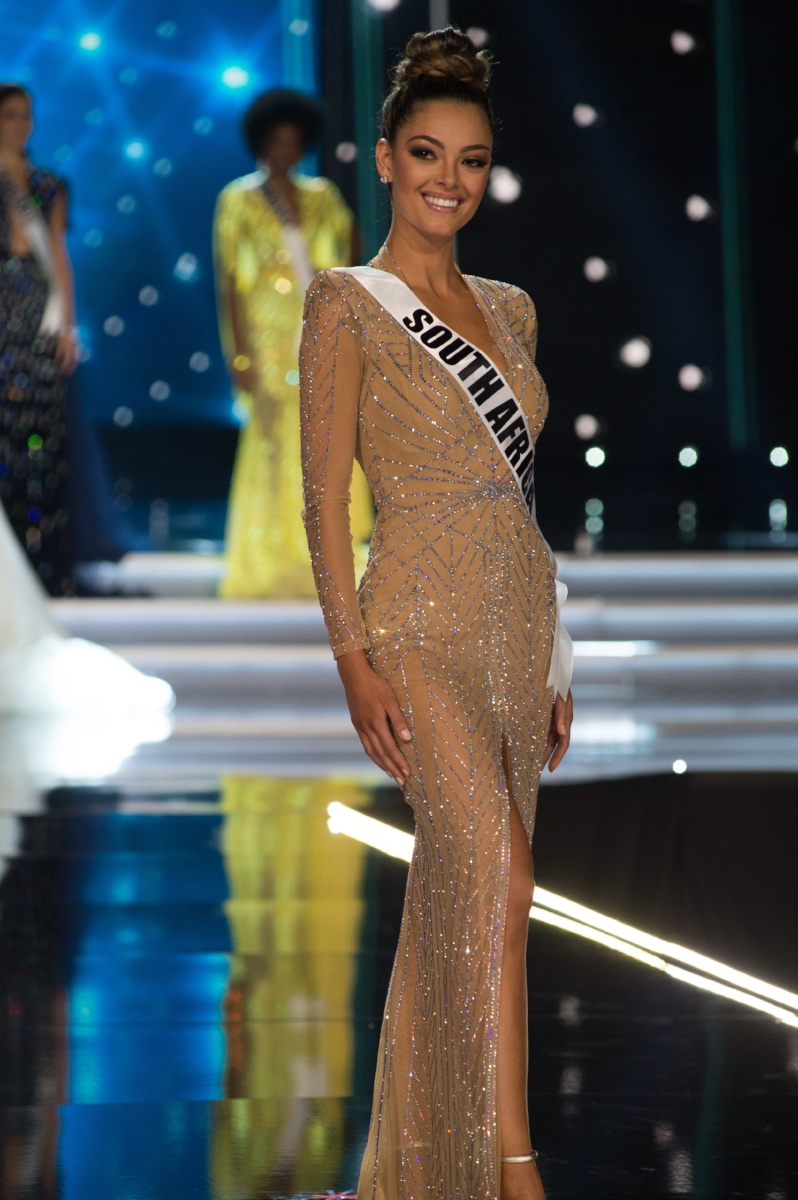 Photographer:Matt Petit  Demi-Leigh Nel-Peters, Miss Universe South Africa 2017