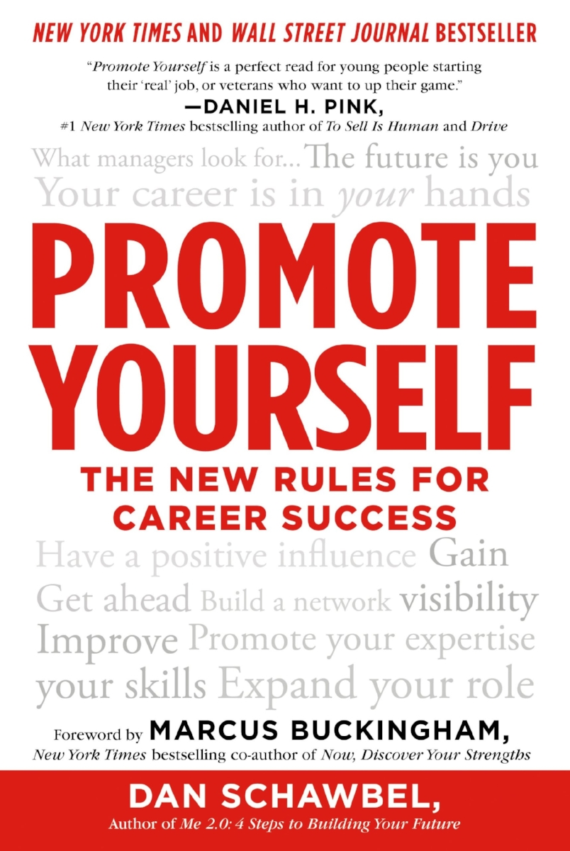 Promote yourself one of 3 books to supercharge your life and career