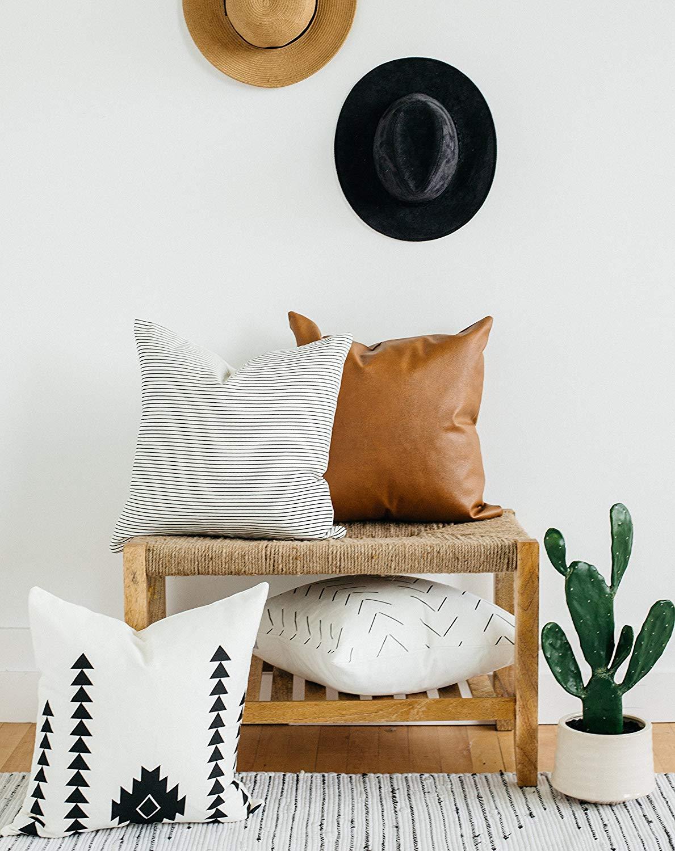 Woven Nook      decorative throw pillows