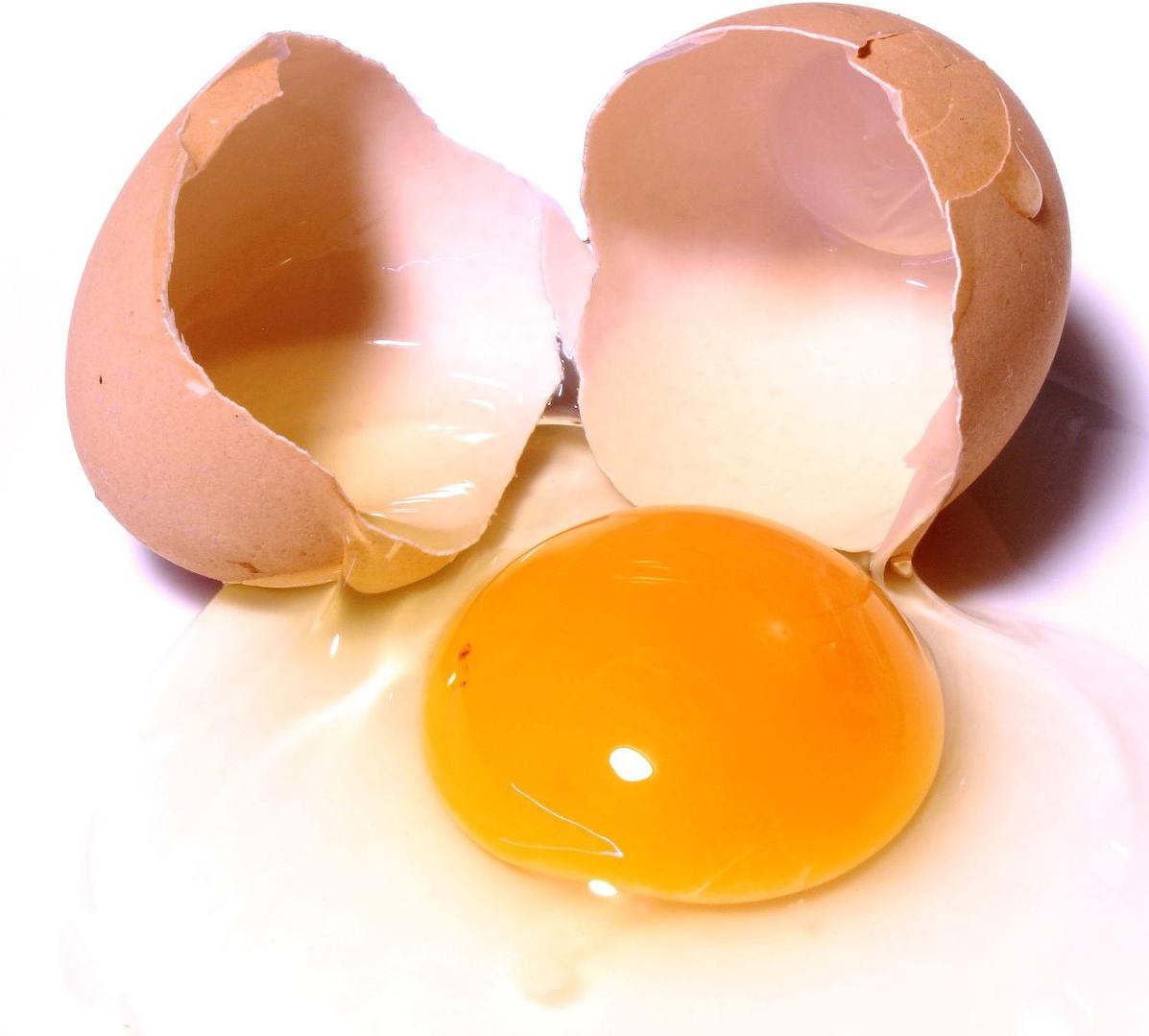 Egg is great for moisturizing hair.