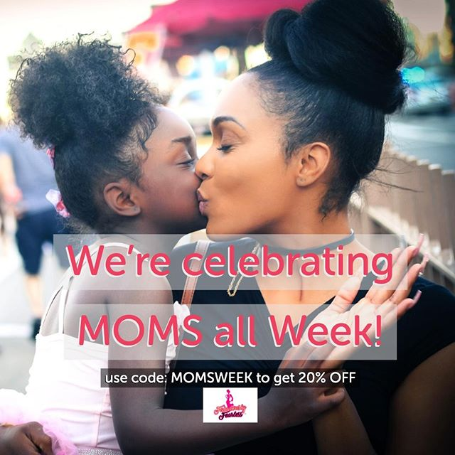 We're celebrating moms all week + plus free shipping. Use code: MOMSWEEK to get 20% OFF your order. Expires 5/18/, 11:59 PM EST. https://buff.ly/2BIUNIW