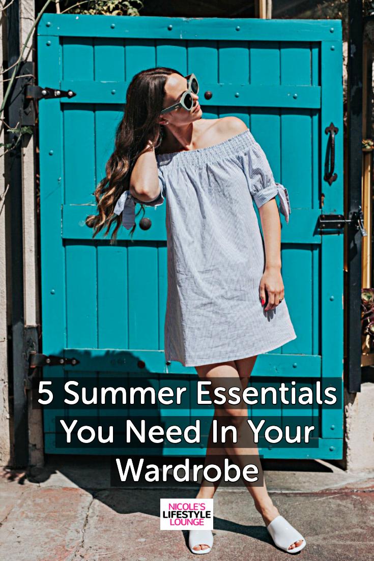 5 summer essentials 2019