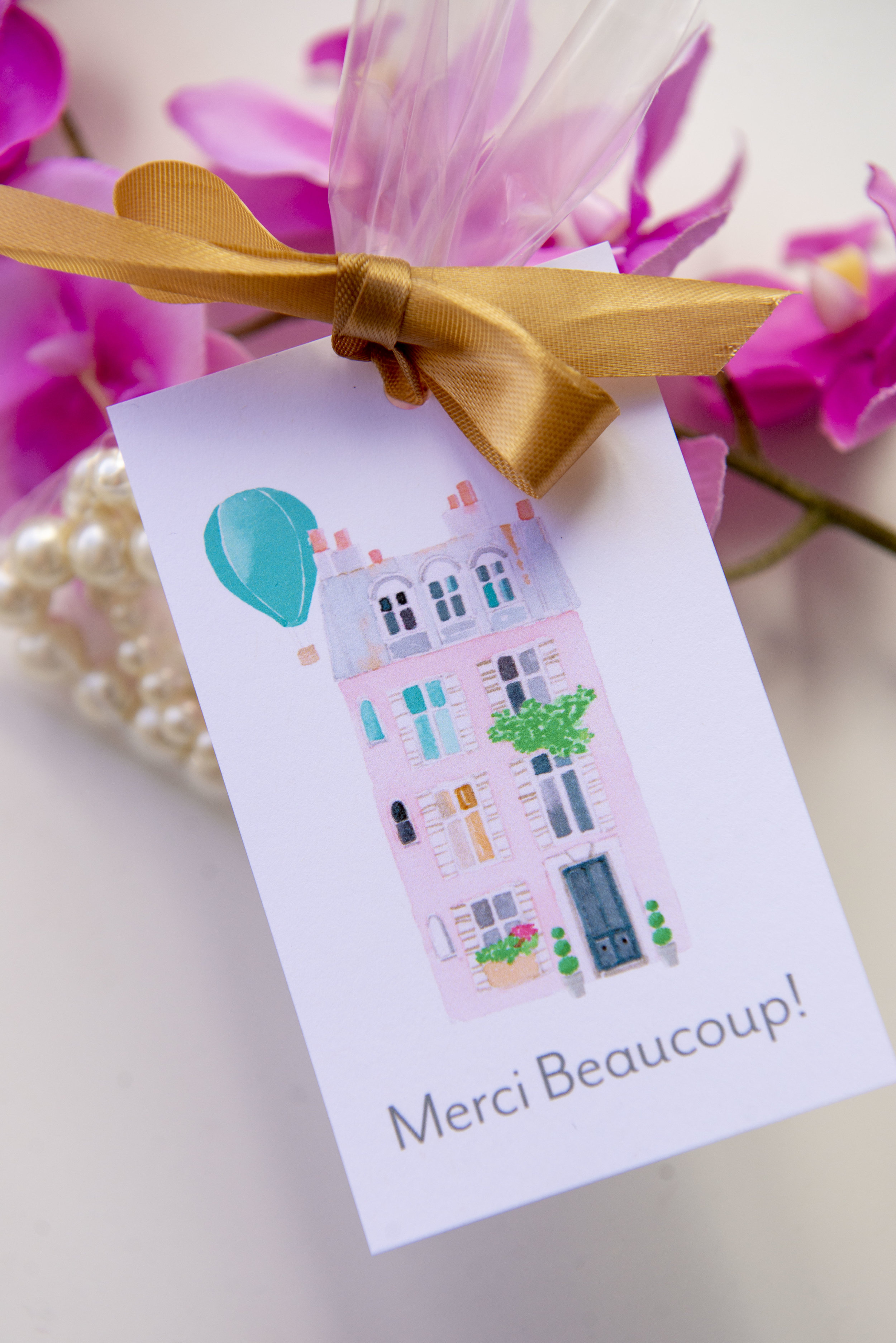 It is a photo of Printable Party Favor Tags for little mermaid party