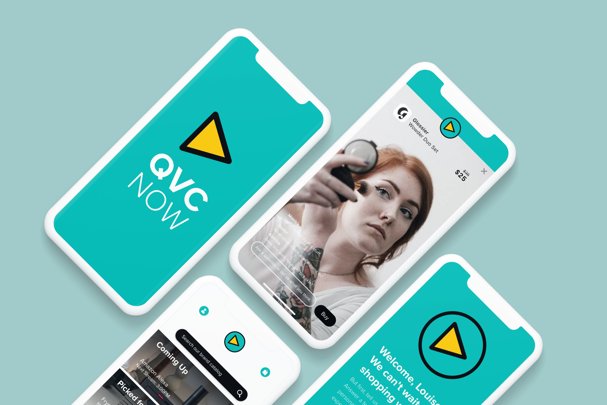 Helping QVC redefine mobile commerce - Product Strategy / UX Design / UI Design
