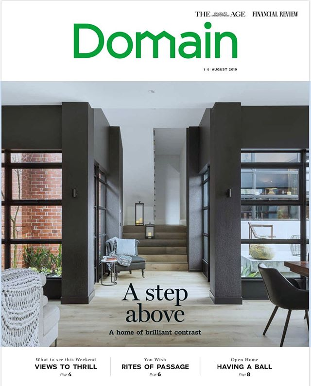 Ivanhoe project #J101 featured on the front page and as 'House of The Week' 👏🏼 @domain.com.au @theageaustralia #acgmelbourne