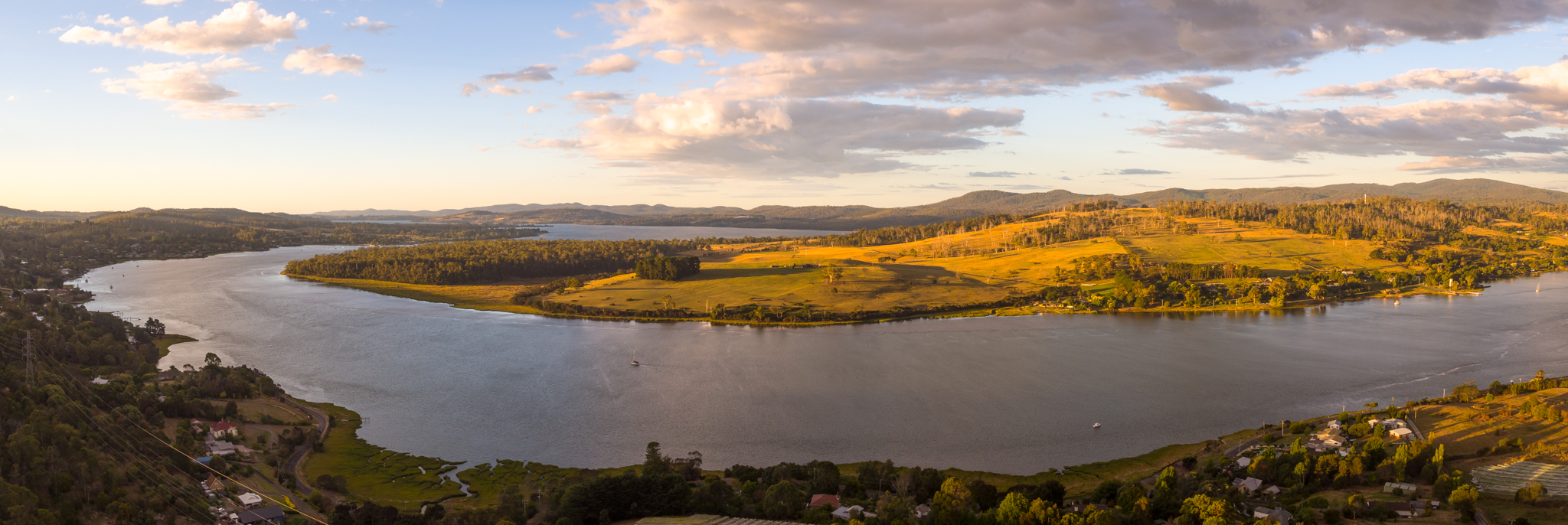 Tamar Valley Sunset