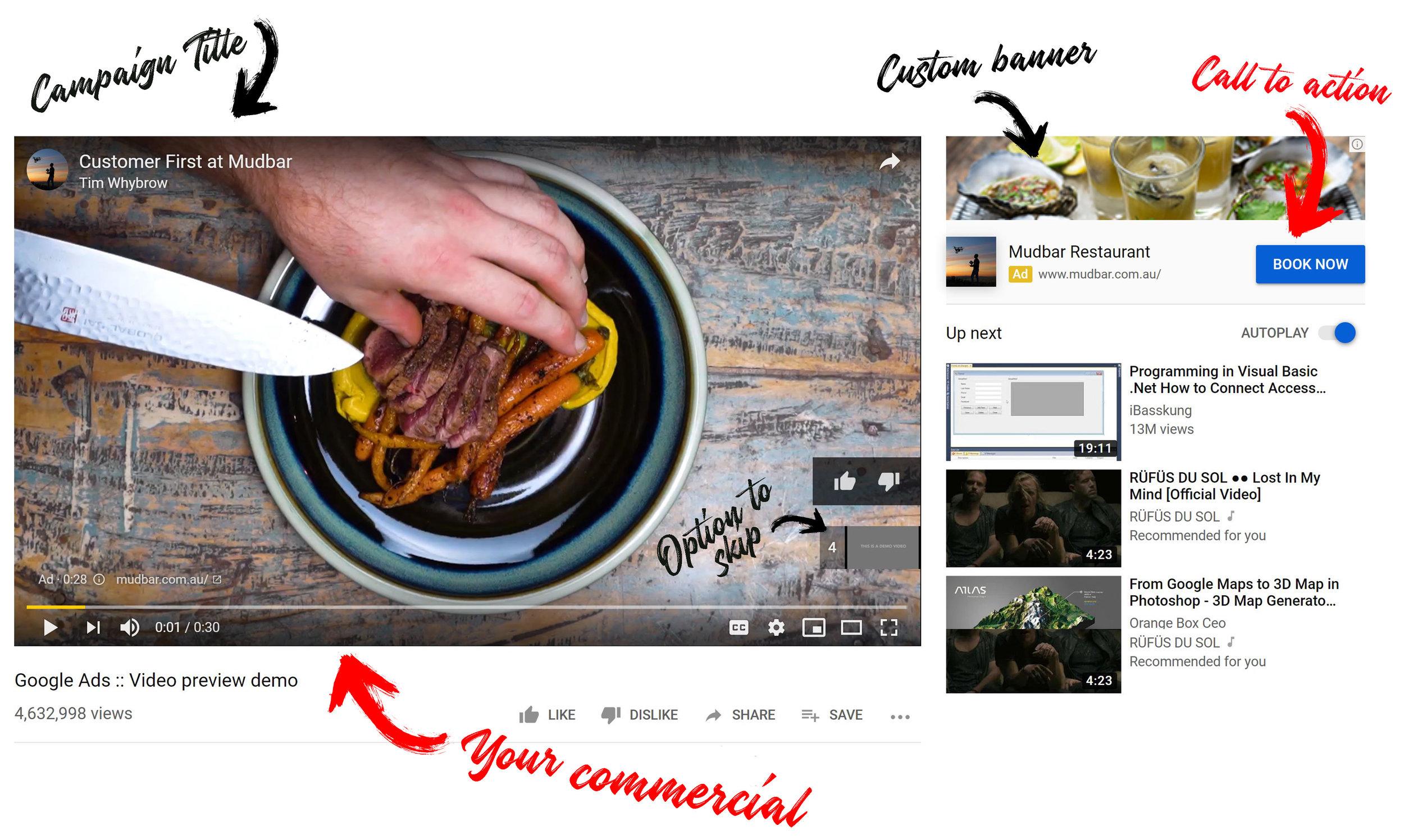 YouTube advertising tasmania