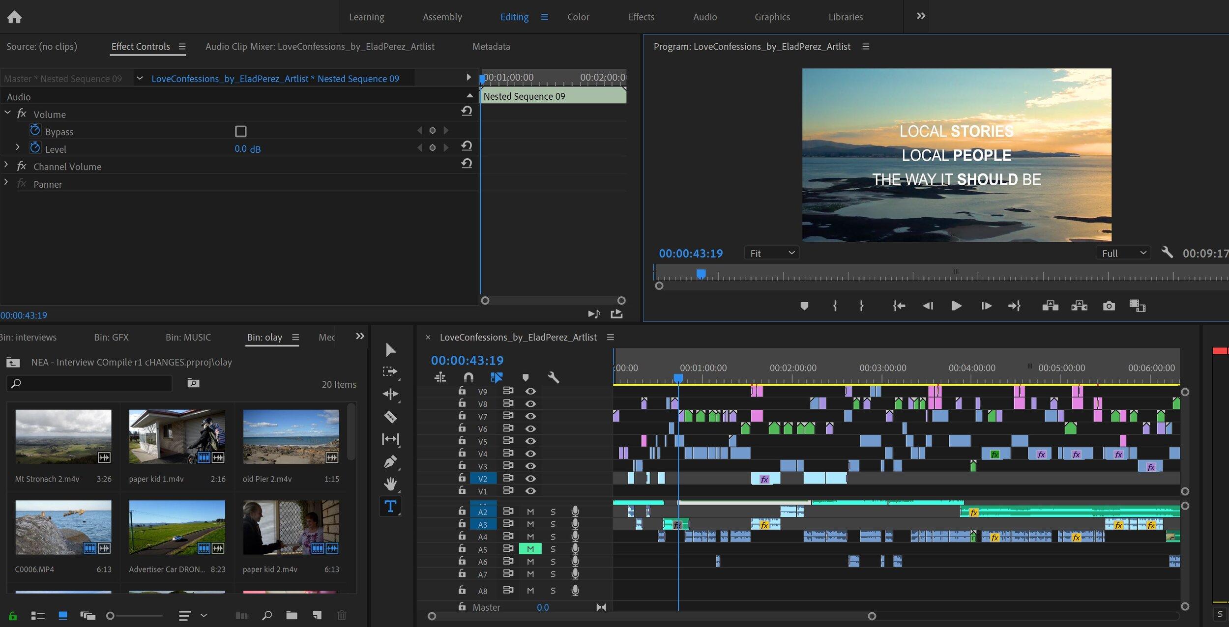 Video Editing Tasmania