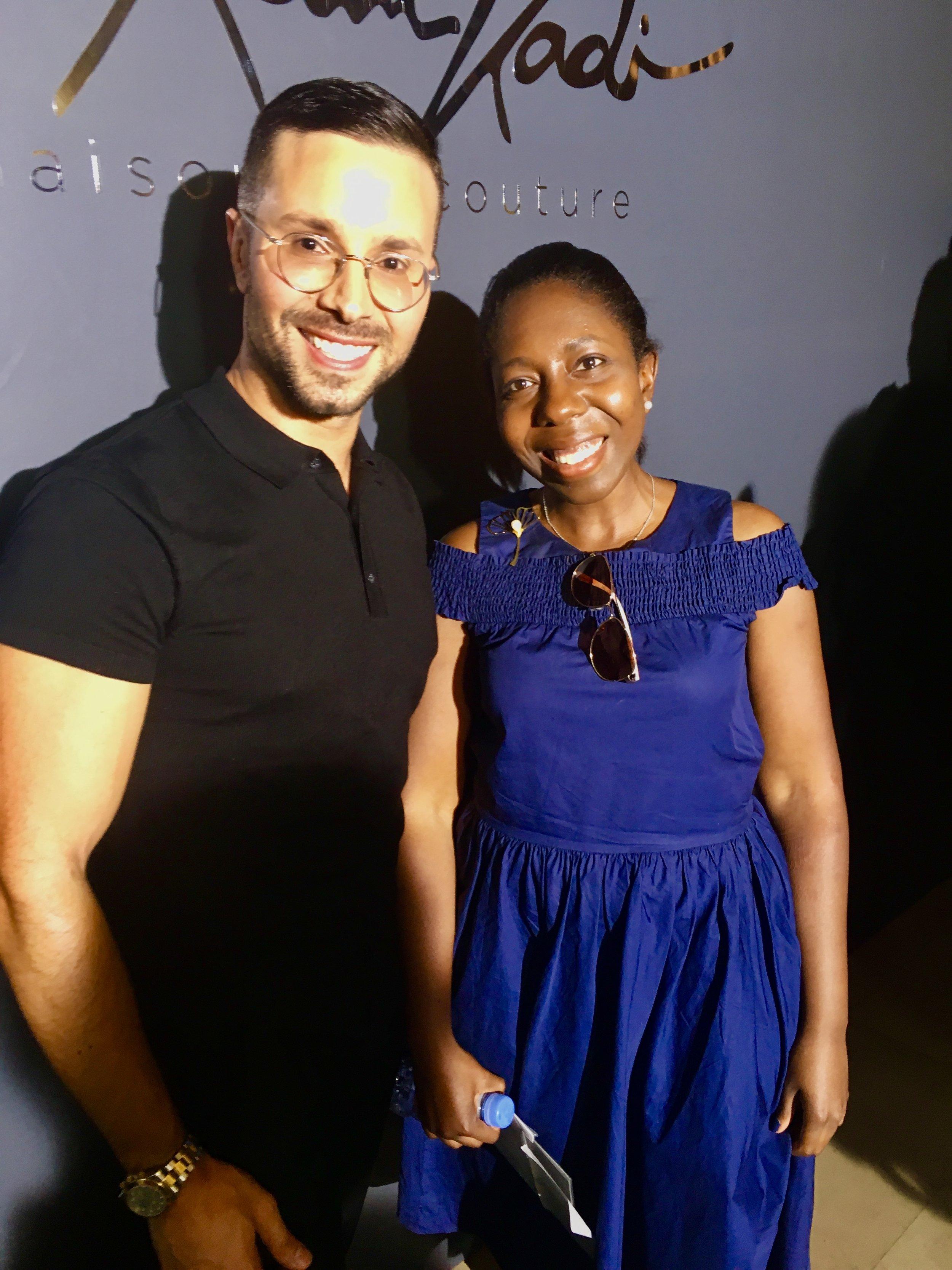 Lebanese couture designer, Rami Kadi