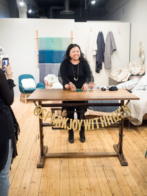KonMari Workshop at Guildhall Home, Helen Youn