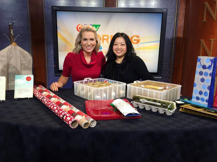 CTV Morning Live host Courtney Ketchen with Helen Youn