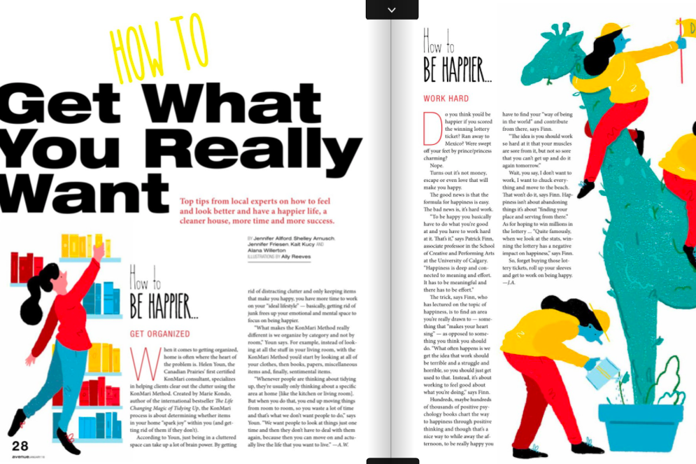 Avenue Calgary How To Get What You Really Want article