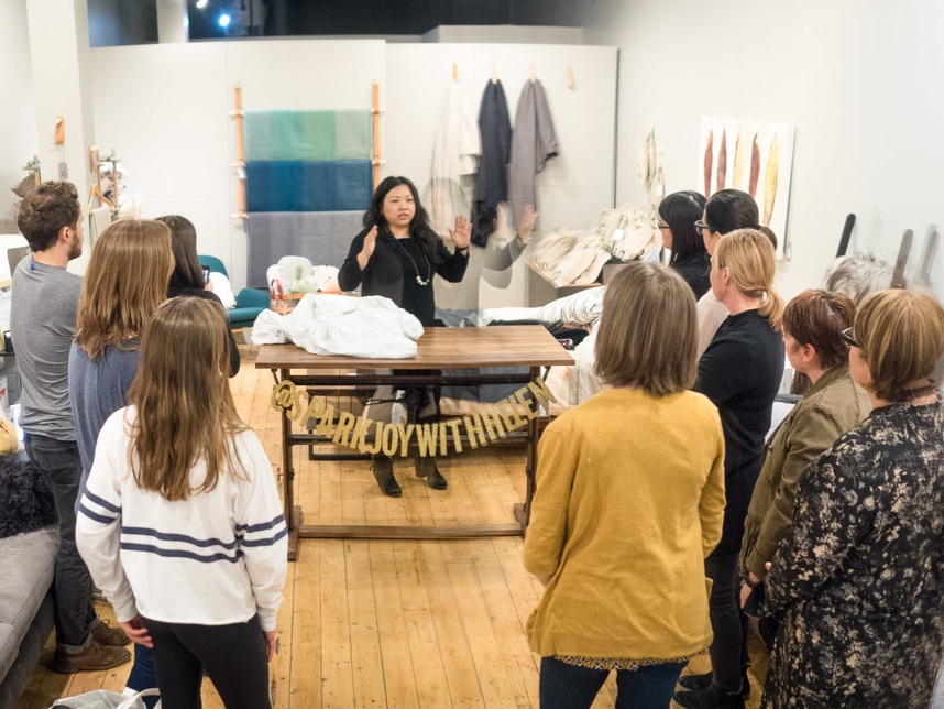 Helen Youn at Guildhall KonMari Workshop