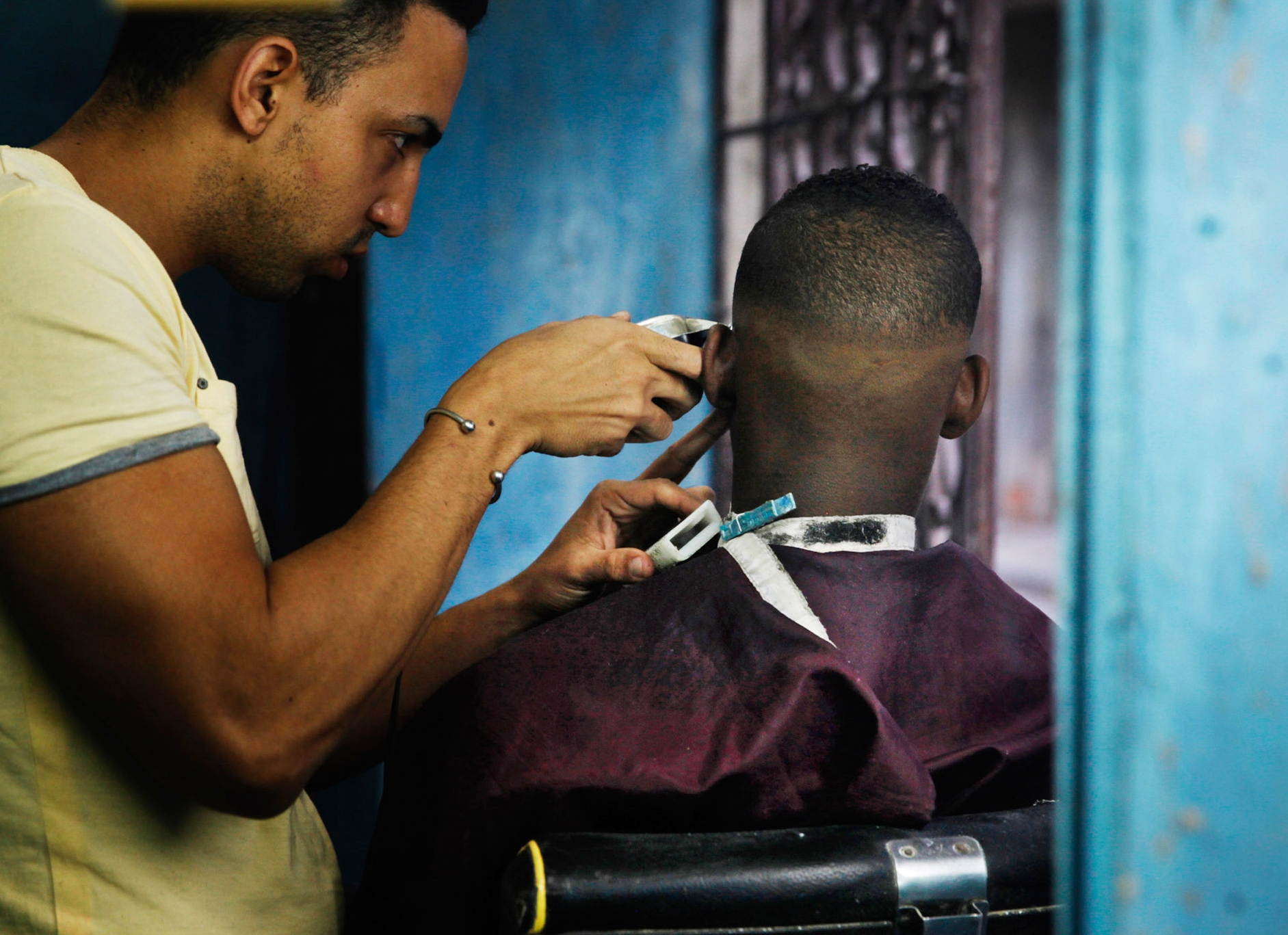 HAIRCUTS OF HAVANA — Russell Monk