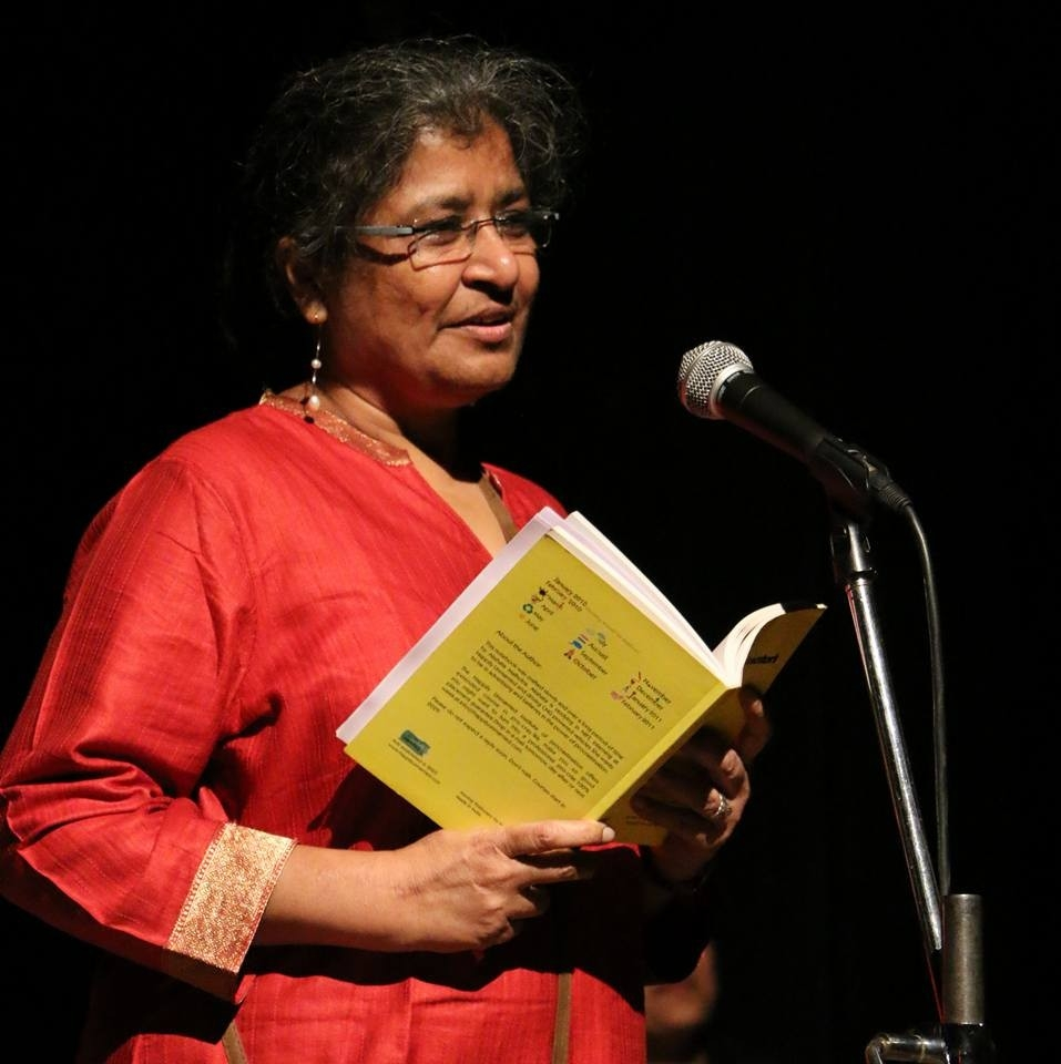 Chayanika Shah  has been involved in the autonomous women's rights movements since the late 1970's. She started off by actively campaigning against hostel regulations for women students while studying in IIT Bombay, after which she joined the Forum against Oppression of Women. Since then, she has been an active participant in various significant protests, campaigns, and national conferences. She joined Stree Sangam, which is currently is known as  LABIA  – A Queer Feminist LBT Collective. Currently, she has taken voluntary retirement from teaching Physics at a college in Mumbai, and is still active as ever in women's movements across the country.