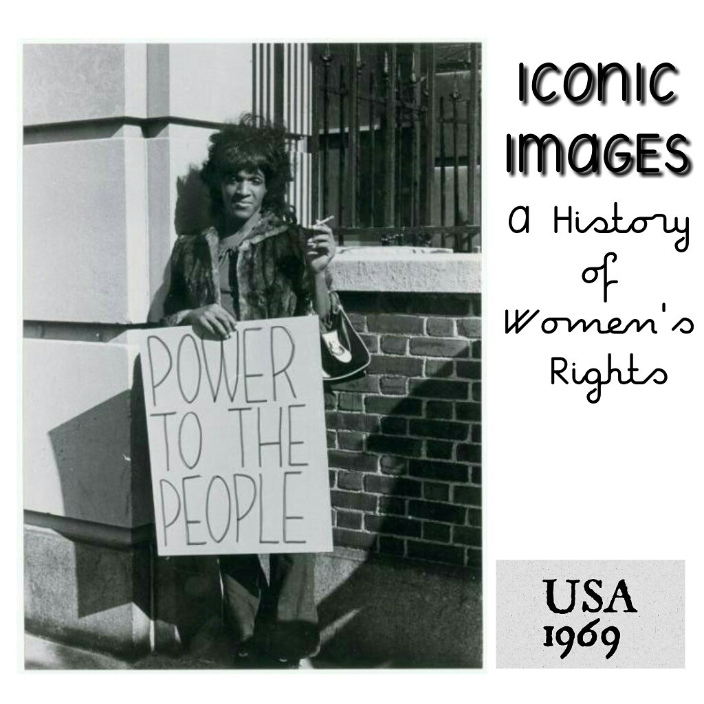 Marsha Johnson, USA 1969 - Submitted by Anushka Aqil from the US:Marsha