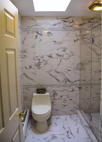 Finished Bathroom Renovation