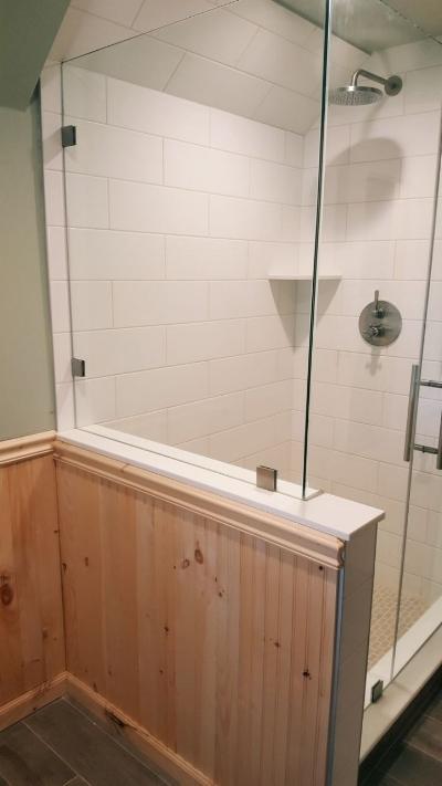 Finished Bathroom Renovation Shower
