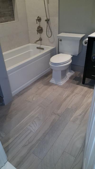 Full Bathroom Renovation in Hoboken, NJ
