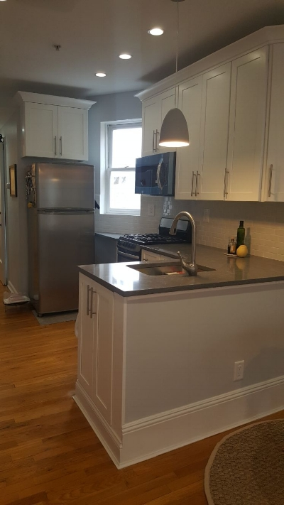 Kitchen Renovation in Downtown Jersey City