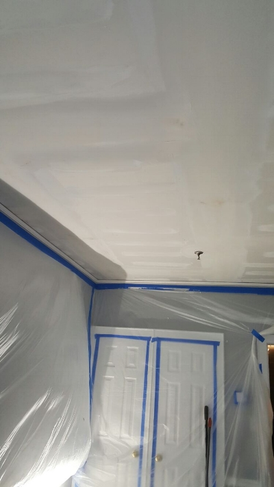 Soundproofing on Bedroom Ceiling Done!