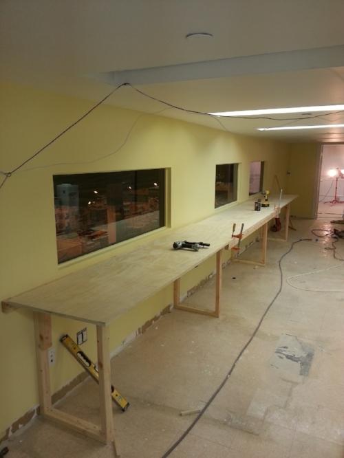 Custom work spaces
