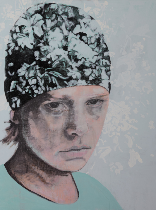 Zonder titel 2011 acryl op doek 60 x 110 cm