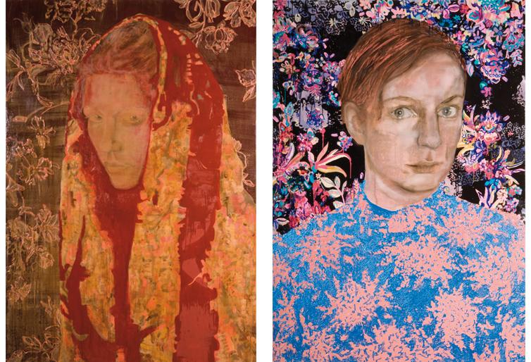 Atonement 2008 220 x 150 cm schilderij op doek  Zonder titel 2008 schilderij op doek 220 x 150 cm