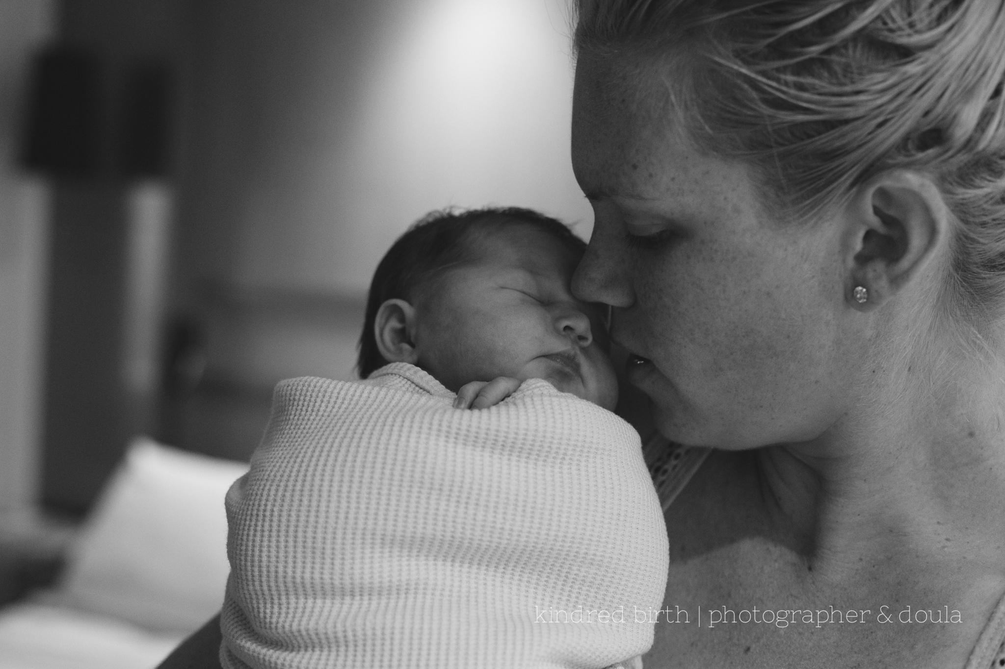 Buderim Private in hospital newborn session