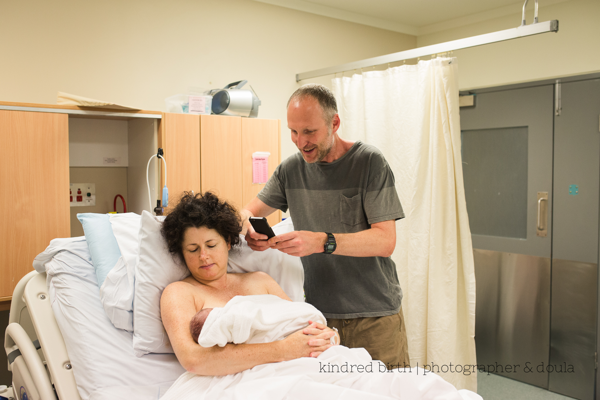 natural birth at Nambour Hospital
