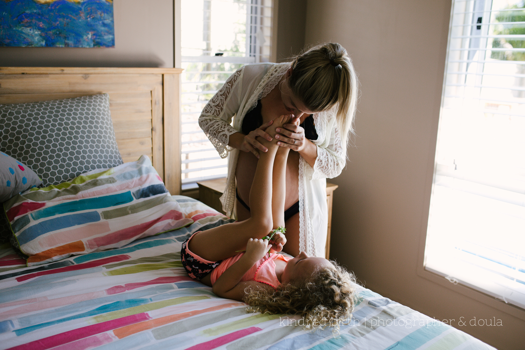 real life maternity session Sunshine Coast