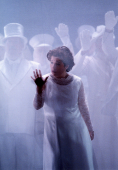 Natalie Christie Peluso as Euridice in Orphee et Euridice for Welsh National Opera