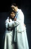 Natalie Christie Peluso as Sophie and Katerina Karneus as Octavian, in Der Rosenkavalier for Welsh National Opera