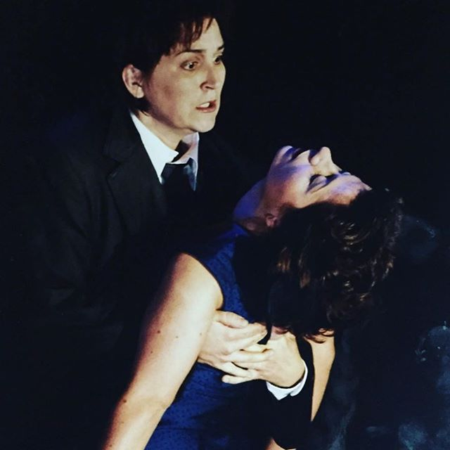 Another dead soprano 🤣 - this was last time I sang Euridice, here with the glorious @katarinakarneus as Orfeo... for Welsh National Opera @wnotweet . . . . . #operasinger #operasingers #operasingersofinstagram #instaopera #classicalmusic #singer #singerslife #classical #classicalmusic #welsh #soprano #diva #theatre #actress #stagelife