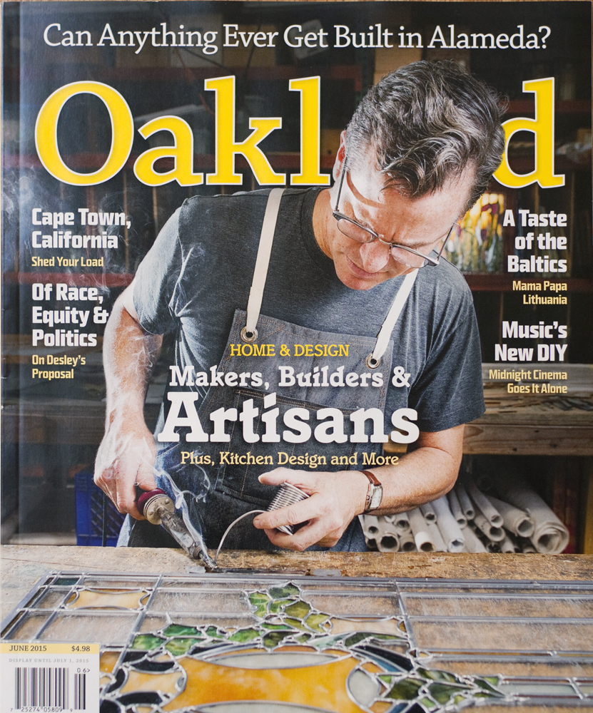 Oakland Magazine, June 2015