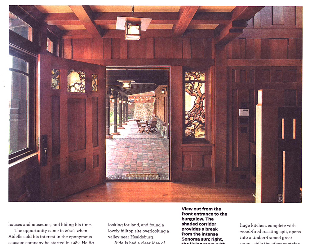 San Francisco Chronicle Magazine, September 2008