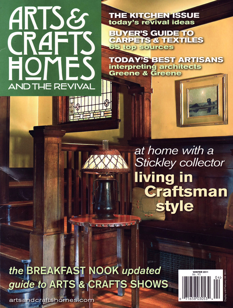 Arts & Crafts Homes, Winter 2011