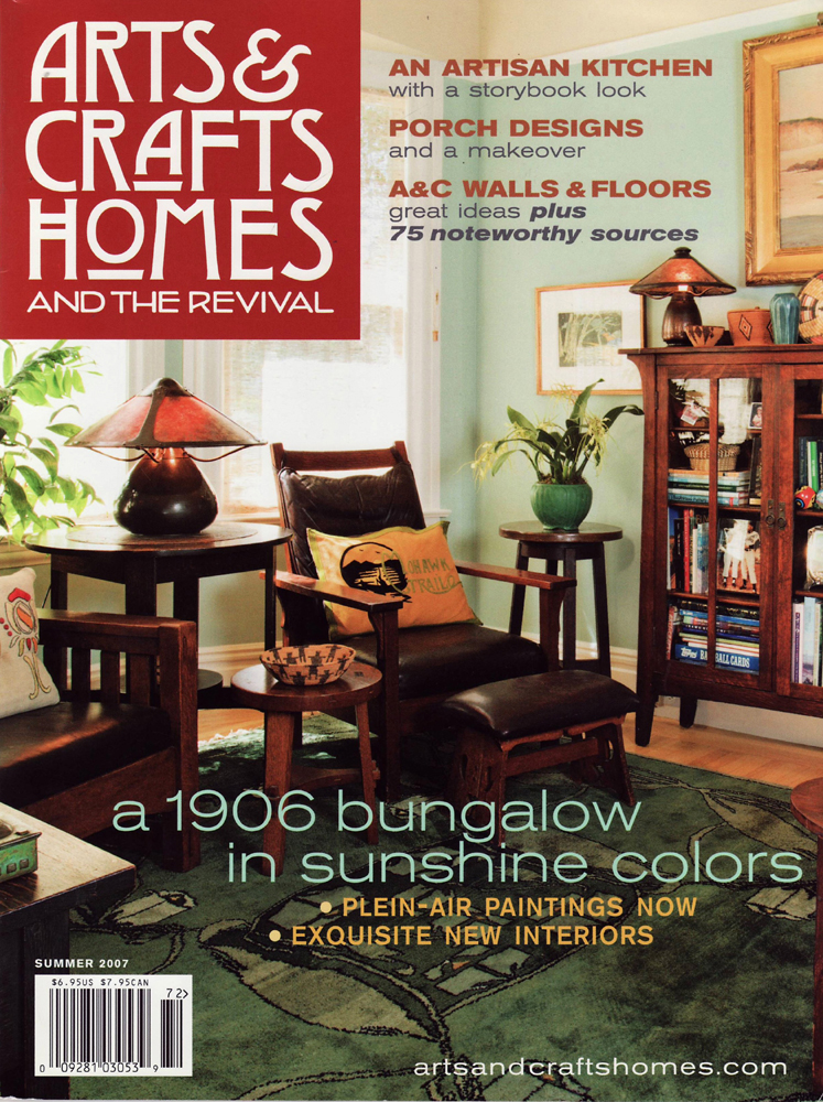 Arts & Crafts Homes, Summer 2007