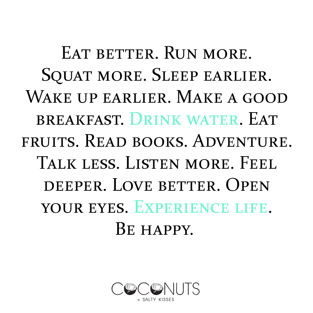 Instagram quotes - eat better