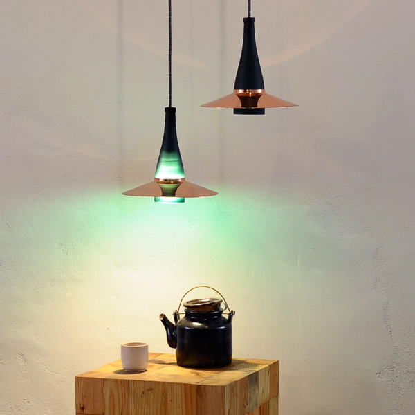 La Flor lamp by NutCreatives.