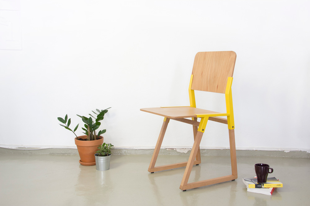 The Noem chair by NutCreatives.