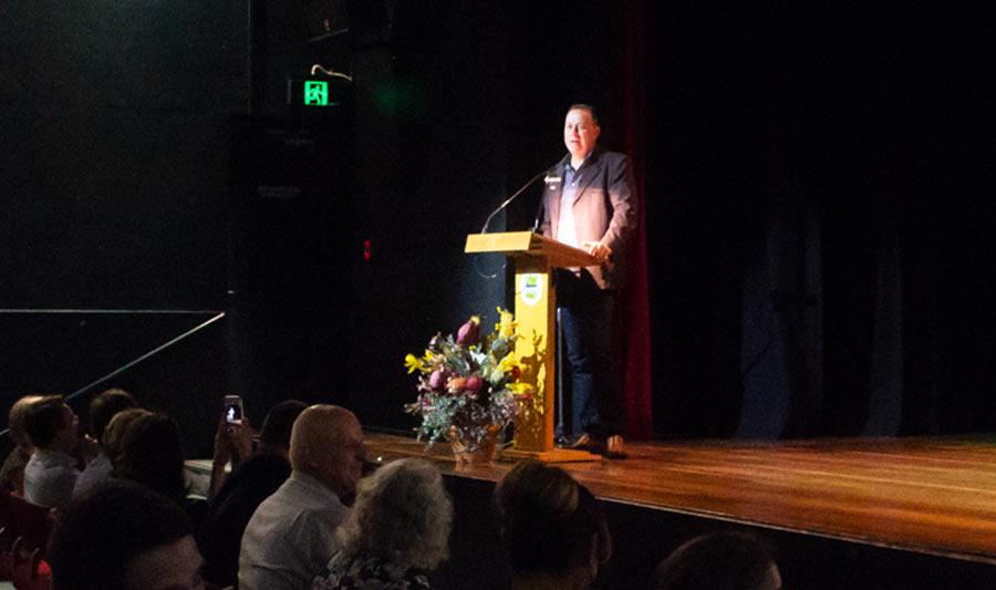 Councillor Steve Swenson was the MC.