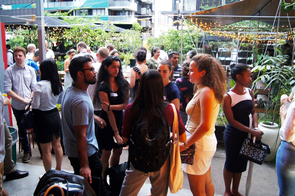 Brisbane Social Enterprise Drinks & Networking recently hosted by QSEC + Impact Boom.