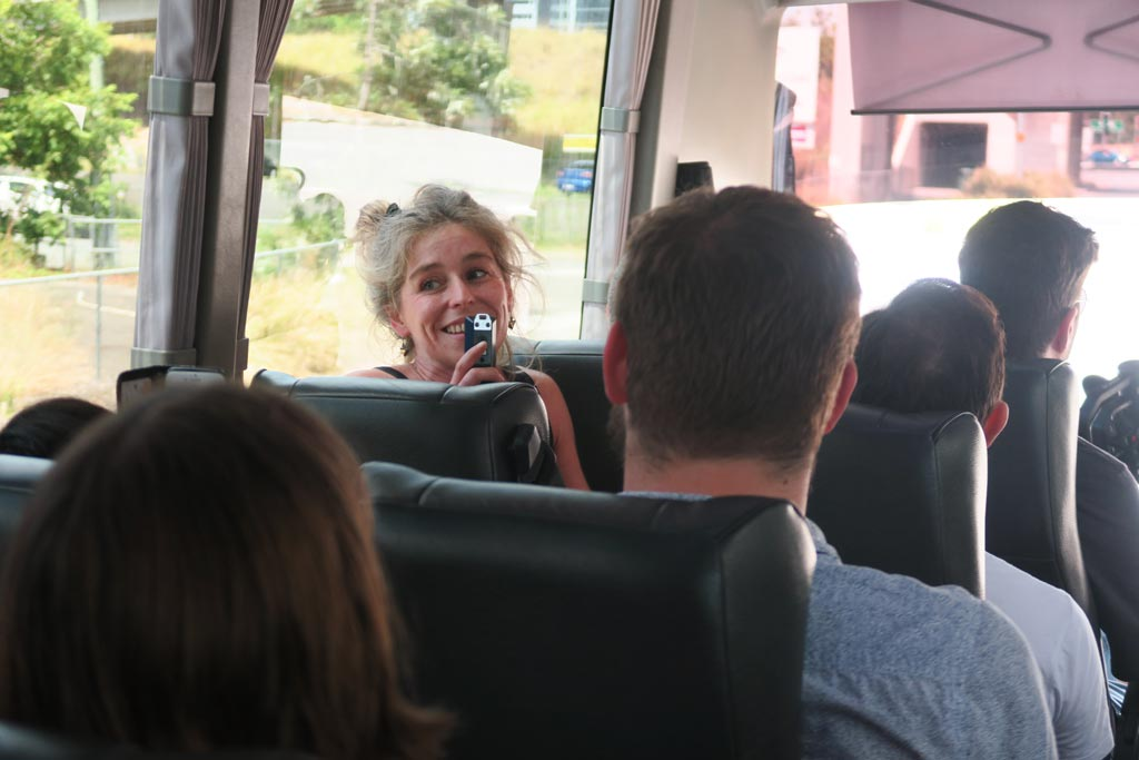 Ani Wilson of Motley Bunch shared her journey with the bus.