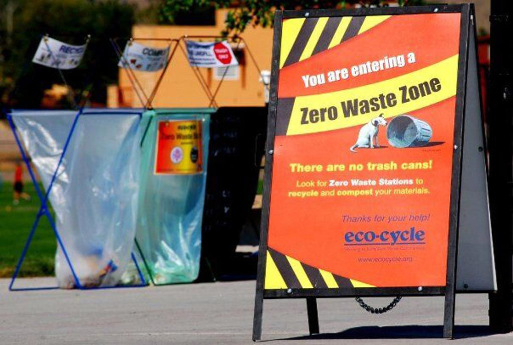 The first Zero Waste Festival in the USA in 1997.