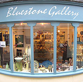 The Bluestone Gallery   8 Old Swan Yard, Devizes, Wiltshire, SN10 1AT.  Wood-fired salt glaze.