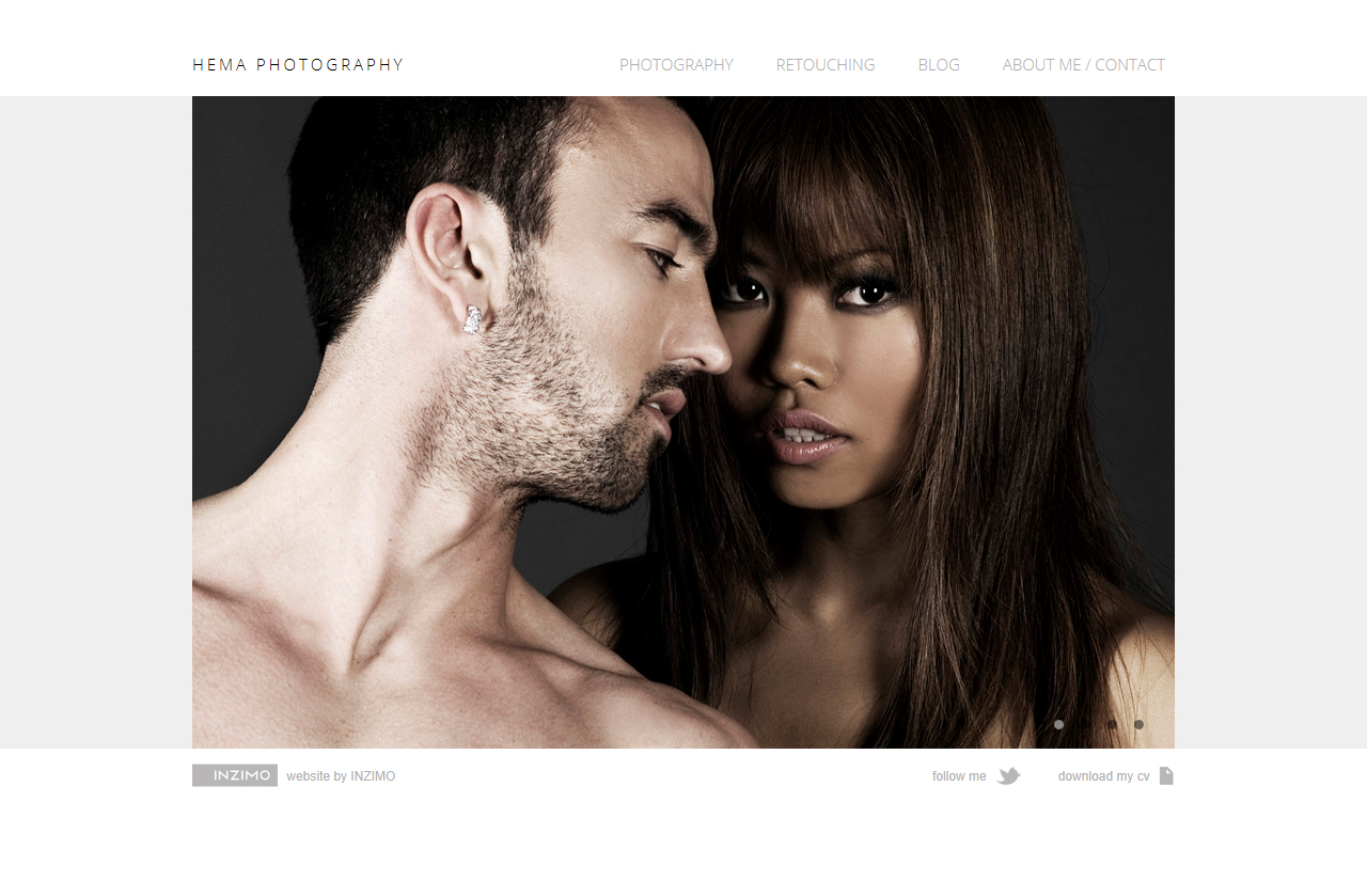 Hema Photography Website