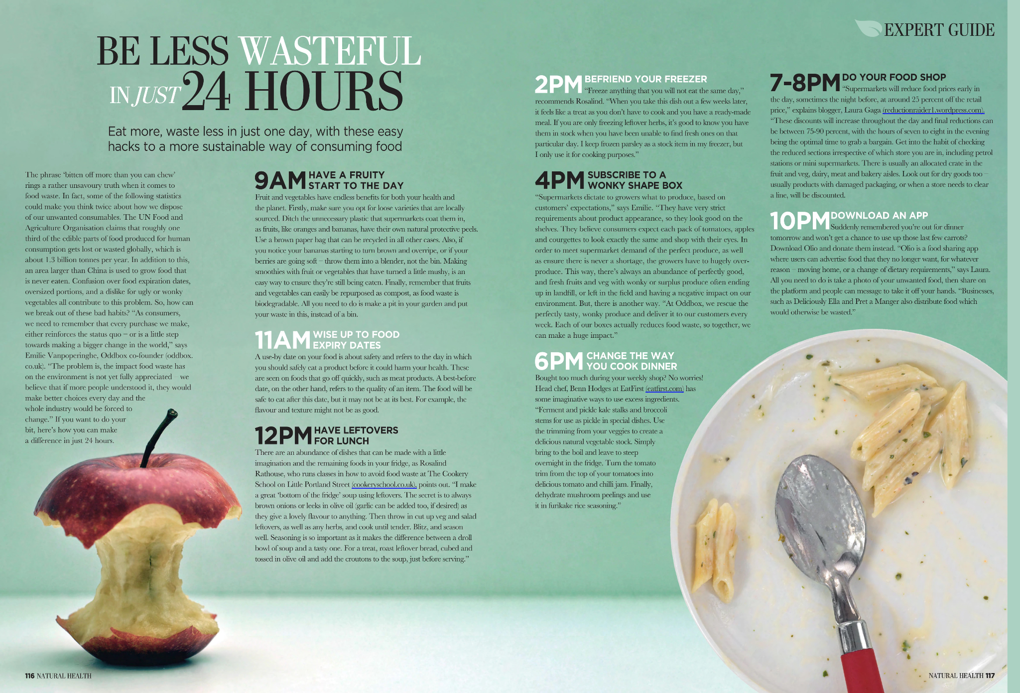 How to be less wasteful in just 24 hours (Natural Health - 02/19) -